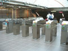 Saint Cyprien République metrómegálló az A vonalon, Toulouse (forrás: Friedl Ferenc)