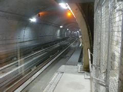 A B vonal kétvágányú alagútja, Toulouse (forrás: Friedl Ferenc)