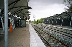 A C vonal kétvágányú pályája, Toulouse (forrás: www.railfaneurpoe.net)