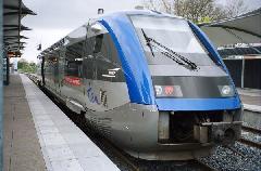 A C vonal dízel járműve, Toulouse (forrás: www.railfaneurope.net)
