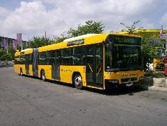 Az új szerzemények már a sajtótájékoztató előtt forgalomba álltak., Árpád híd autóbusz állomás, Budapest (forrás: VEKE)