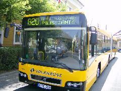Új elővárosi autóbuszok álltak forgalomba az észak-budai agglomerációban