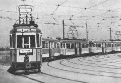 Ezek a hosszú, távkapcsolású szerelvények jellemzően az 50-es viszonylaton közlekedtek, mivel az Üllői úton már a '20-as, '30-as években is kiemelkedően nagy forgalom bonyolódott le. (forrás: Főváros Tömegközlekedésének másfél évszázada)