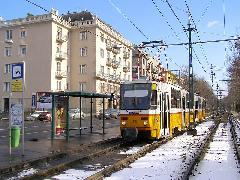 Tátra-páros a Fogaskerekű vasútnál. (forrás: Feld István Márton)