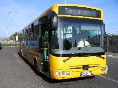 Egy fotó a jövőből: a city-buszt új, alacsonypadlós városi autóbusszal fogják üzemeltetni, Győr (forrás: Winkler Ágoston)