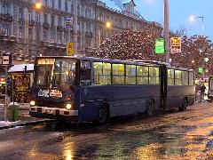 BPO-874 a 6-os járat Nyugati pályaudvari végállomásán. (forrás: Istvánfi Péter)