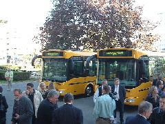 Ünnepélyes buszátadás, Városháza, Győr (forrás: Ifj. Dobronyi Tamás)