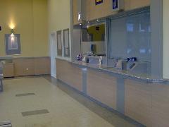 Érd alsó új váróterme és jegypénztára, Érd, autóbusz-pályaudvar, Érd (forrás: Friedl Ferenc)