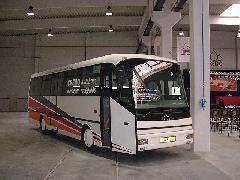 Az első CREDO midibusz, még KRAVOLA névre hallgatott, Kühne Zrt., Mosonmagyaróvár (forrás: VEKE)