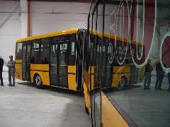 Az 500. busz egy csuklós BN18-as..., Kühne Zrt., Mosonmagyaróvár (forrás: VEKE)