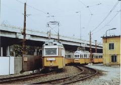 A jobb sorsra érdemes Üllői úti villamosvonal is a megszüntetés sorsára jutott a hármas metró átadását követően., Budapest (forrás: Lakos Rudolf)