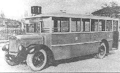 MÁVAG-N2 favázas autóbusz 1929-ből (Bp17.401) (forrás: Városi Közlekedés)