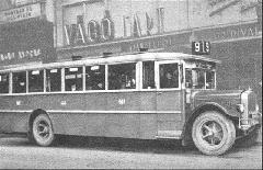 MÁVAG-N26-os favázas autóbusz 1929-ből (Bp17.507) (forrás: Városi Közlekedés)