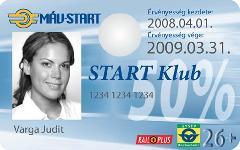 START-Klub kártya – első fecske a hazai vasúton.
