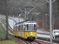 Szombat délelőtt még villamos, délután már az U15 járt a TV-toronyhoz. (forrás: Müller Péter)
