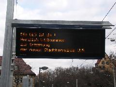 Az U15 új megállóiban köszöntötték a néptömeget a megnyitás alkalmából., Stuttgart (forrás: Müller Péter)