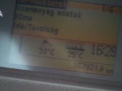 Ilyen az, amikor jól működik a klíma. Az árnyékban mért külső hőmérséklethez képest 5-7 fokkal van hűvösebb (FLR-713), Budapest (forrás: Dorner Lajos)