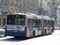 Két BKV-s szélsőség: egy kifogástalan kocsi (FKU-943)..., Astoria, Budapest (forrás: Dorner Lajos)