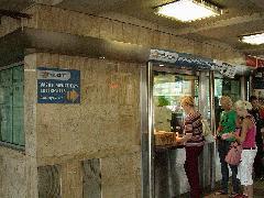 MÁV-Start jegypénztár a Margit hídnál (forrás: Halász Péter)