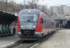A MÁV-Start vonata Filatorigát megállóhelyen (forrás: Friedl Ferenc)