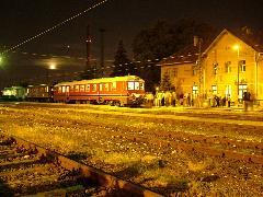 A különvonat Óbuda MÁV állomáson., Óbuda MÁV állomás, Budapest (forrás: Németh Zoltán Gábor)