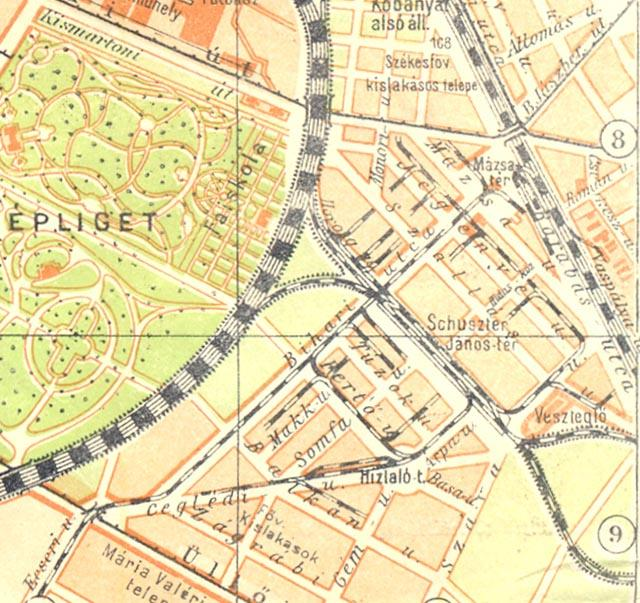 budapest térkép kőbánya A Kőbányai Iparvasút története | VEKE budapest térkép kőbánya