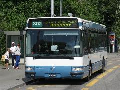Zürichi autóbuszjárat, Zürich (forrás: Müller Péter)