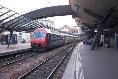 S-Bahn ingaszerelvény Stadelhofen állomáson, Zürich (forrás: Mészáros Gergely)