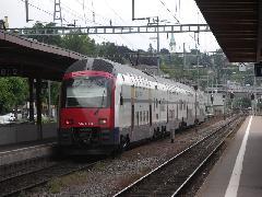 Siemens emeletes motorvonat, Zürich (forrás: Müller Péter)