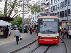 Az S18 inkább villamosra hasonlít, Zürich (forrás: Németh Attila)