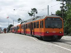 A magánkézben lévő Uetlibergbahnt is integrálták az S-Bahn-hálózatba, Zürich (forrás: Müller Péter)