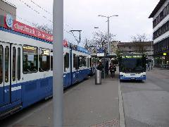 Fontos a jó átszállási kapcsolat biztosítása, Zürich (forrás: Németh Attila)