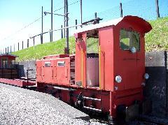 Ernst Stadler először kis mozdonyokat készített, egyedi szerelésben.  (forrás: Tóth-Maros Dániel)