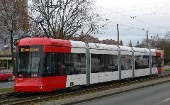 Variobahn villamos Nürnbergben , Nürnberg (forrás: Wikipedia)