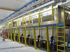 Készülő kocsiszekrény, kimerevített állapotban, Stadler gyár, Bussnang (forrás: Hajtó Bálint)