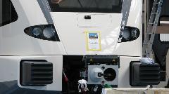 Ezt a GTW-t a Veolia rendelte, Stadler gyár, Bussnang (forrás: Hajtó Bálint)