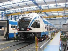 Ez a FLIRT Algériában fog közlekedni, Stadler gyár, Bussnang (forrás: Hajtó Bálint)