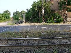 Összekötő vágány MÁV Kőbánya-Hizlaló állomás és az iparvasút telepe között , Horog utca, Budapest (forrás: Kemsei Zoltán)
