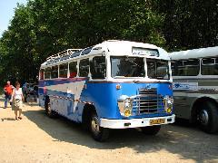 A Hajdú Volán 311-ese szintén részt vett az érdeklődők utaztatásában. (forrás: Gégény András)