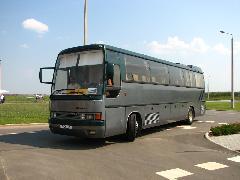 A rendezvény egyik különlegessége, az Ikarus 386SL konferenciabusz. (forrás: Gégény András)