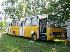 A BKV Ikarus 260T trolibusza. (forrás: Istvánfi Péter)