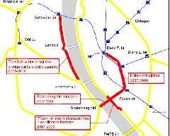 Nonszensz: közel egy évig lezárják a budai rakparti villamosvonalakat