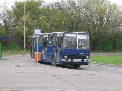 HLN-324 a 79-es busz azóta jelentősen átalakult közvágóhídi végállomásán, Közvágóhíd, Budapest (forrás: Hajtó Bálint)