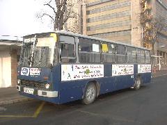20 éve az utasok szolgálatában a BPO-103, Örs vezér tere, Budapest (forrás: Hajtó Bálint)