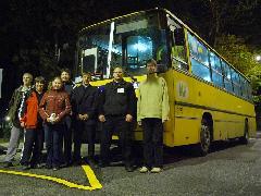 Az éjszakai járaton aktívan részt vettek a VEKE tagok is., Győr (forrás: VEKE)