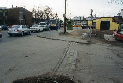 Ennyi maradt: a külső Üllői úti vasúti közlekedést egykor életre hívó pestszentlőrinci téglagyár iparvágányának maradványai (forrás: Szelényi Gábor)