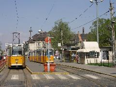 Ma a 47-es villamos használja csak a végállomást (forrás: VEKE)