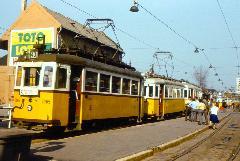 Városház tér, háttérben a 47-es és 9-es villamosok végállomása (forrás: VEKE)