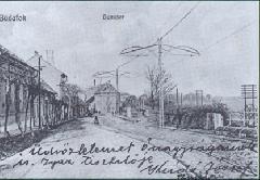 Nagytétényi út a  Tóth József utca felé tekintve (forrás: VEKE)