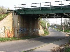 A közút ma a 6-os úthoz vezet (forrás: VEKE)